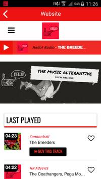 Hello! Radio screenshot 1