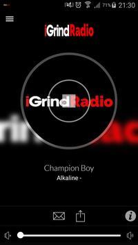 iGrind Radio poster