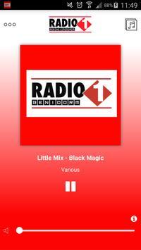 Radio 1 Benidorm poster