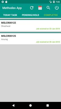 Methodex - Job Card screenshot 2