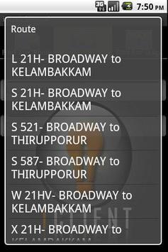 iBUS Chennai screenshot 4