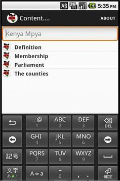 Kenya Mpya apk screenshot