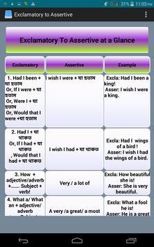 Transformation of Sentence screenshot 12