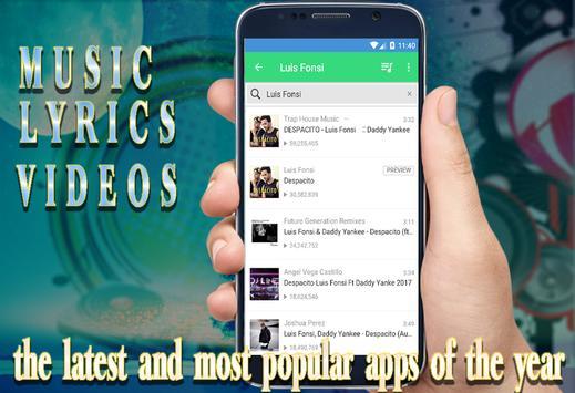 "Luis Fonsi_Ft. Demi Lovato ""Échame La Culpa"" Lyric screenshot 3"