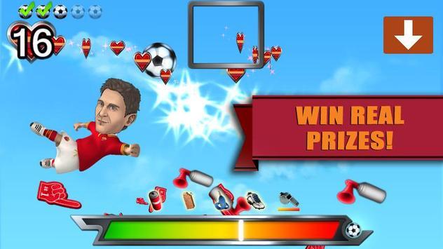 AS Roma Powershot Challenge apk screenshot