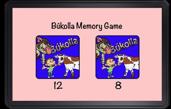 Bukolla Memory Game screenshot 1