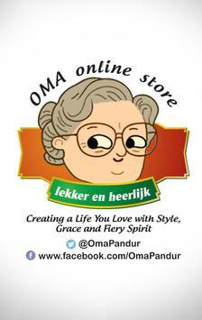 OMA Online Shop poster