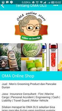 OMA Online Shop apk screenshot