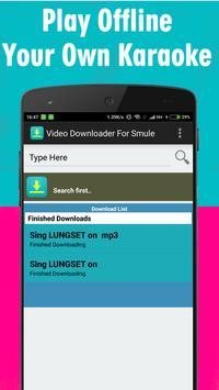 Video Downloader For Smule apk screenshot