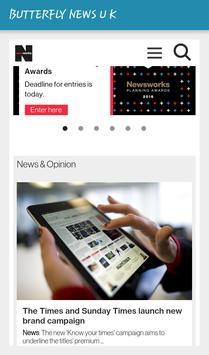 BUTTERFLY NEWS U K screenshot 4