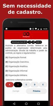 Simulado TRT Concursos screenshot 3