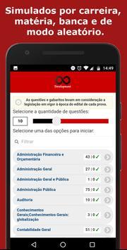 Simulado TJ Concursos screenshot 1