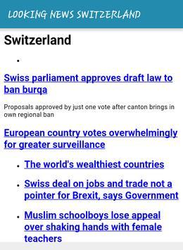 LOOKING NEWS SWITZERLAND screenshot 5