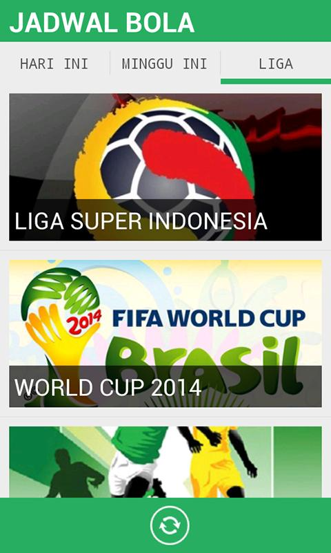 Jadwal bola apk download free sports app for android apkpure jadwal bola poster jadwal bola apk screenshot reheart Images