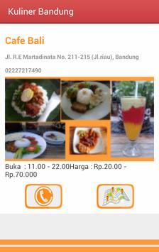 Kuliner Bandung poster