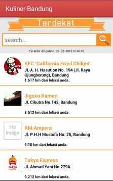 Kuliner Bandung apk screenshot