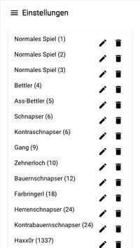 Bummerl Liste screenshot 4
