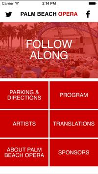Palm Beach Opera poster