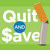Tobacco Quit and Save icon