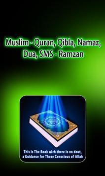 Muslim Ramzan App - Quran, Qibla, Namaz, Dua, SMS poster