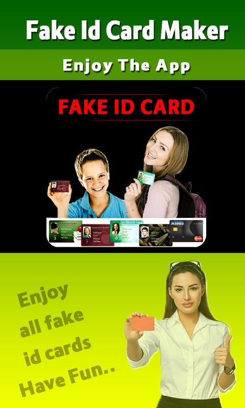 Fake ID Card Maker Prank for Android - APK Download