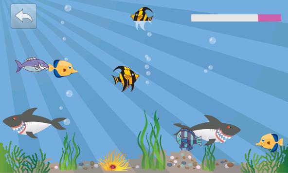 Fish World game for kids poster