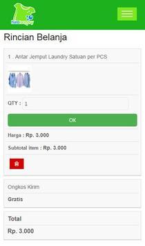 Halo Laundry screenshot 2