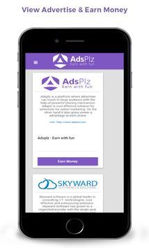 Adsplz - Earn Money Online apk screenshot