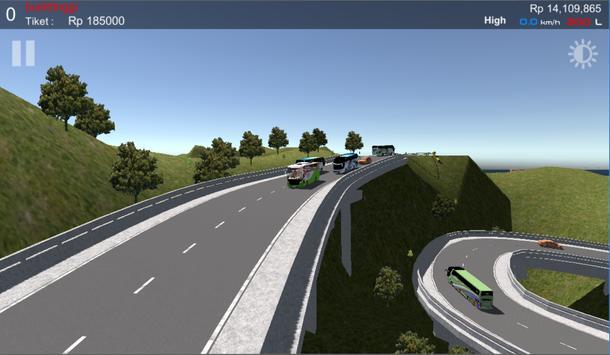 IDBS Simulator Bus Lintas Sumatera screenshot 1