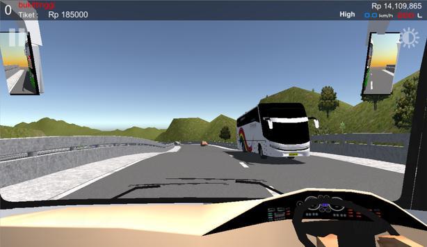 IDBS Simulator Bus Lintas Sumatera screenshot 5