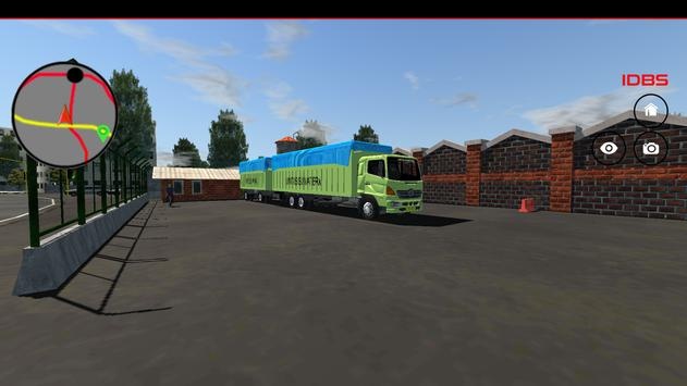 IDBS Indonesia Truck Simulator screenshot 2