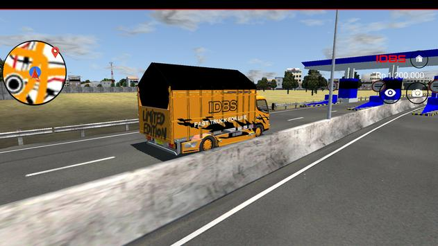 IDBS Indonesia Truck Simulator screenshot 3