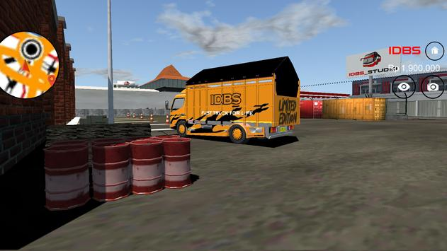 IDBS Indonesia Truck Simulator screenshot 4