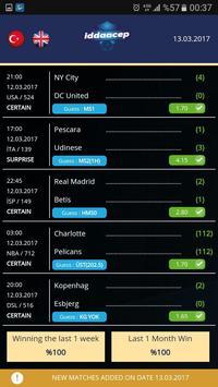 PocketBet screenshot 1