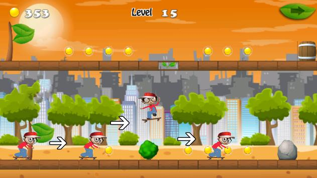 Jungle Angelo Run apk screenshot