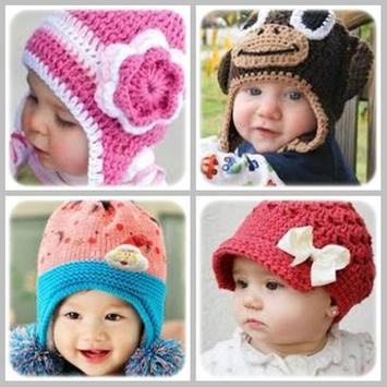 Ideas Crochet Baby Hats poster