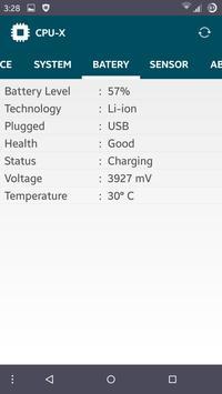 CPU-X apk screenshot