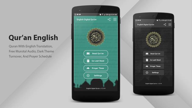 Al Qur'an English poster