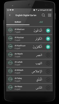 Al Qur'an English screenshot 2