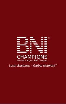 BNI Champions poster