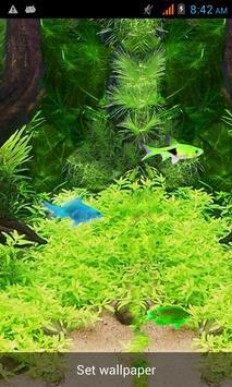 Free Aquarium Live Wallpaper apk screenshot