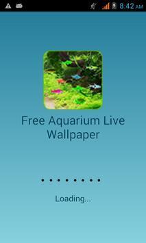 Free Aquarium Live Wallpaper poster