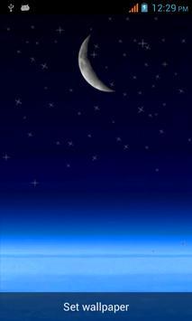 Moon Live Wallpaper apk screenshot