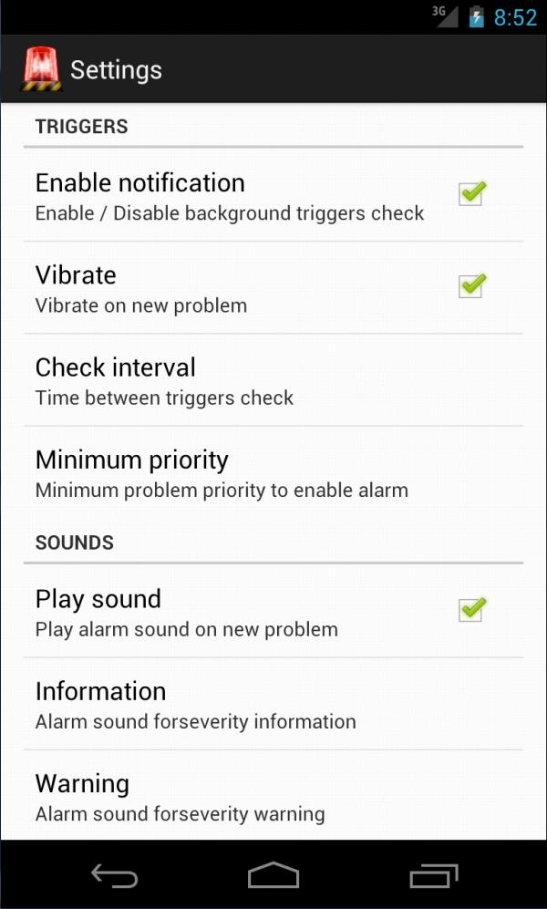 ZabbixAlert for Android - APK Download