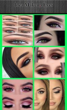 Idea Makeup Eyes स्क्रीनशॉट 1