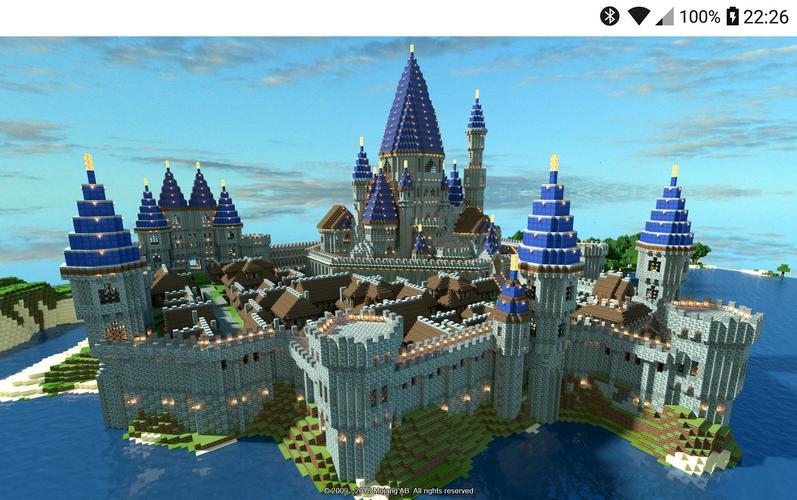 minecraft castle ideas modern