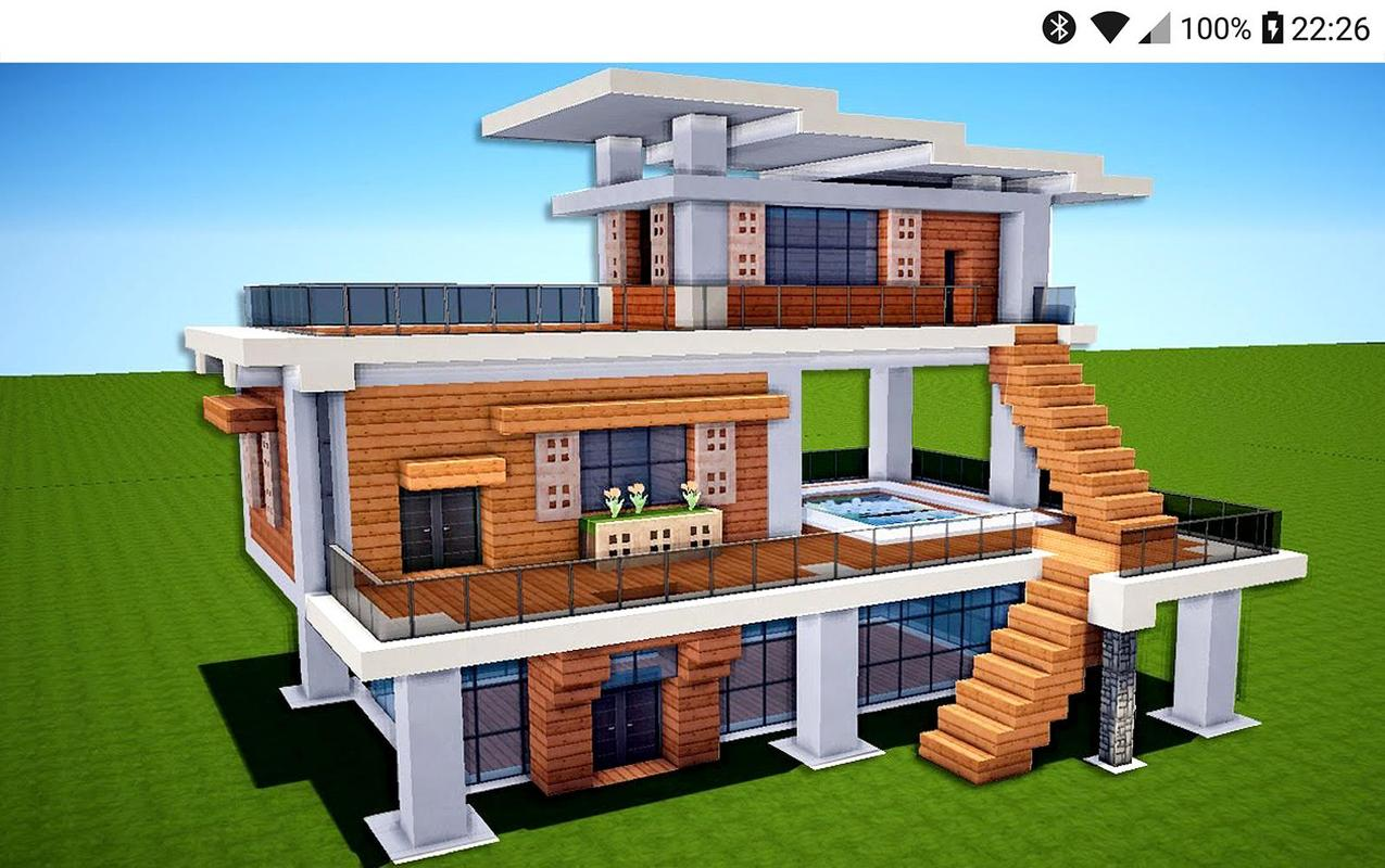2018 Minecraft House Ideas For Building For Android