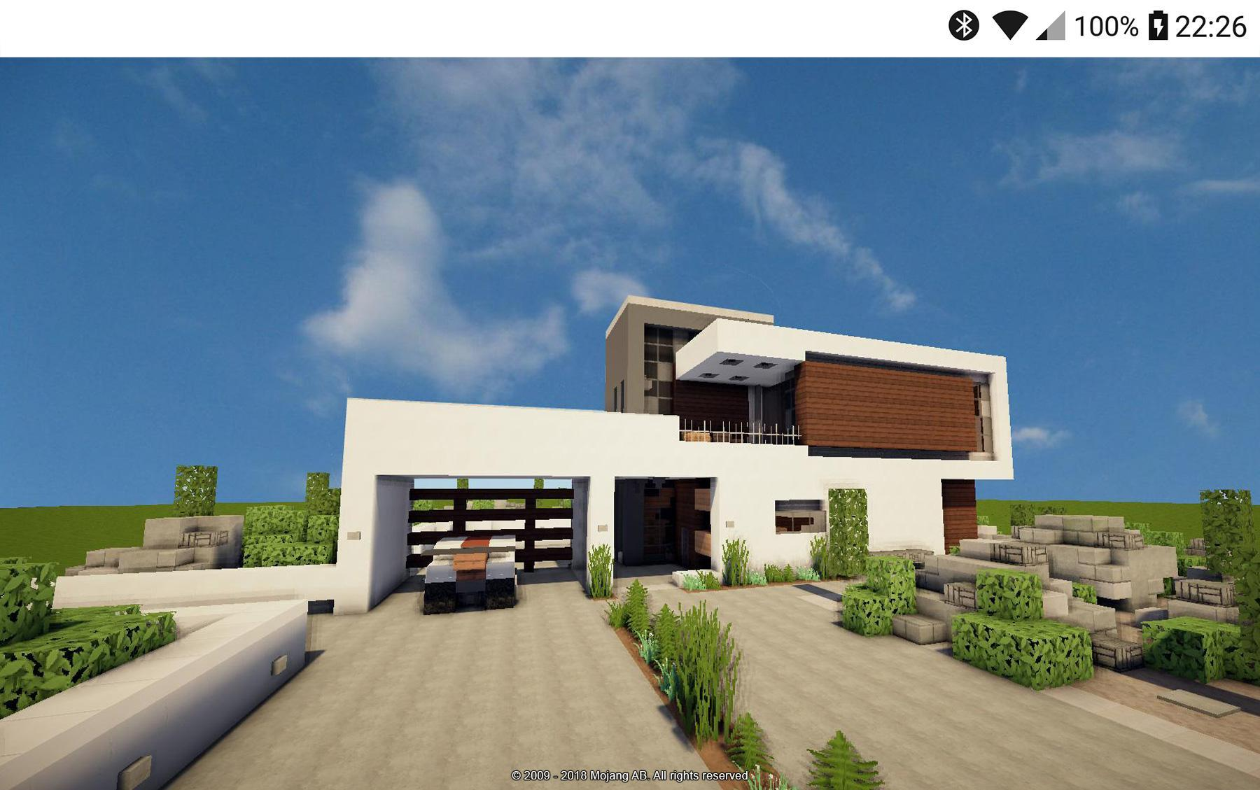 Modern Minecraft House Design Ideas For Android Apk Download