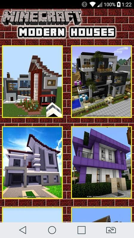 Modern Minecraft House Design Ideas für Android - APK herunterladen