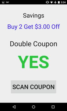 Double Coupon Checker poster
